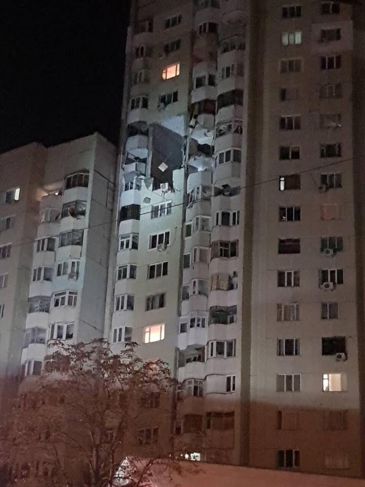 В жилом доме на Рышкановке прогремел мощный взрыв
